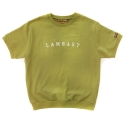 램배스트(LAMBAST) SHORT SLEEVE COTTON CREWNECK(MUSTARD)