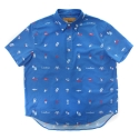 램배스트(LAMBAST) LIFE SHORT SLEEVE COTTON SHIRT(ROYAL BLUE)