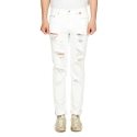 ZB 5207 white vintage denim