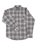 팜스트럭(FARM'S TRUCK) Wrinkle max_Check shirt (Pink)