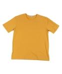 팜스트럭 Ma.P. round ½ shirt (Mustard)
