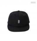 브라운브레스 B 6PANNEL CAP - BLACK