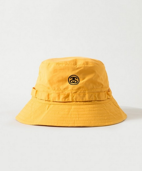 bc06253ad8701 스투시(STUSSY) PACKABLE BUCKET HAT(YELLOW) - 57