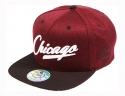 더블에이에이 피티드(DOUBLE AA FITTED) Shiny color heather CHICAGO Logo cap