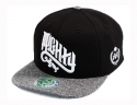 더블에이에이 피티드(DOUBLE AA FITTED) Heather bill Mighty logo cap