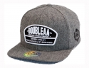 더블에이에이 피티드(DOUBLE AA FITTED) Grey Oxford DA Logo cap