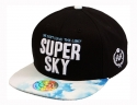 더블에이에이 피티드(DOUBLE AA FITTED) Sky blue SUPER SKY Logo cap