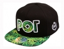 더블에이에이 피티드(DOUBLE AA FITTED) Leaves POT logo cap