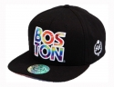 더블에이에이 피티드(DOUBLE AA FITTED) Tiedye pattern BOSTON Logo cap