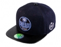 더블에이에이 피티드(DOUBLE AA FITTED) Denim Chicago logo cap