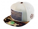 더블에이에이 피티드(DOUBLE AA FITTED) Cream Camo Bill  DA logo cap