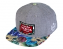 더블에이에이 피티드(DOUBLE AA FITTED) Blue Flower Print Bill DA label cap