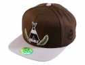 더블에이에이 피티드(DOUBLE AA FITTED) Indian  DA logo cap