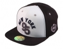 더블에이에이 피티드(DOUBLE AA FITTED) Cream Navy NY 95 logo cap