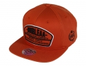 더블에이에이 피티드(DOUBLE AA FITTED) Brown DA logo cap
