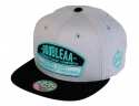 더블에이에이 피티드(DOUBLE AA FITTED) Light Grey DA logo cap
