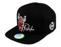 더블에이에이 피티드(DOUBLE AA FITTED) Black Devil Raider logo cap