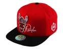 더블에이에이 피티드(DOUBLE AA FITTED) Red Devil Raider logo cap