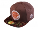 더블에이에이 피티드(DOUBLE AA FITTED) Espresso Printed Bill  DA patch cap