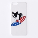 스탠다드커브 STV. SURFING BULLDOG I PHONE 6 CASE WHITE