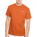 챔피언 <국내배송> Champion USA [챔피언] Jersey Mens T Shirt (오렌지) 반팔티셔츠