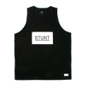 스턴트(STUNT) [스턴트] STUNT Cookie Box Logo Tank (Black)
