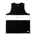 스턴트(STUNT) [스턴트] STUNT Leatherette Cuttin Tank (Black)