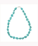 위고(WEGO) TURQUOISE COLOR NECKLACE