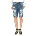 잼블(ZAMBLE) ZB 5277-S  vintage navy denim shorts