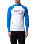 배럴 Swell Rashguard Blue-white
