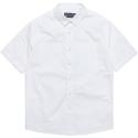 모디파이드 M#0649 1/2 cotton shirt (white)