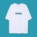 앤더슨벨 (UNISEX) Flocking Raglan T-shirt White atb037