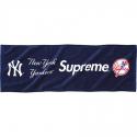 슈프림 Supreme [슈프림] New york yankees supreme hand towel (네이비) 한정판 핸드타월