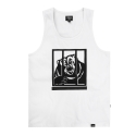 파퓰러너드(POPULARNERD) Angry Bear Sleeveless white