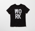 WORK HARD Tee (Black)