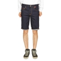 잼블(ZAMBLE) ZB 9736 matelot blue denin shorts