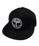 Farms Logo_6panel cap (Black)