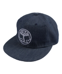 Farms Logo_6panel cap (Denim)