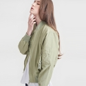 [13PERCENT] Ma-1 Blouson Jacket BRIGHT GREEN