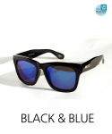 씨엘론다 [씨엘론다]BLS15_블랙&블루 미러선글라스