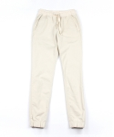 콰이트(QUITE) [콰이트]Cotton Jogger pants /IVORY