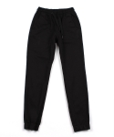 콰이트(QUITE) [콰이트]Cotton Jogger pants /Black