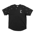 크룩스앤캐슬(CROOKS & CASTLES) Mens Knit S/S Top - Deceased