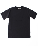 콰이트(QUITE) [콰이트]POCKET TEE / BLACK