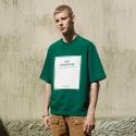 앤더슨벨 (UNISEX) Roll-up Sleeve 1/2 Sweatshirt Green atb038