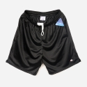 81622 LONG MESH SHORTS WITH POCKET(BLACK)