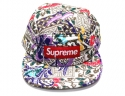 슈프림 SUPREME QUILTED PARADISE CAMP CAP 2015 SS BOX LOGO WHITE 슈프림 캠프캡