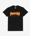 쓰레셔 2015 Thrasher Magazine Flame Logo T-Shirt(Black)