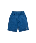 리타(LEATA) LT skull patch sweat shorts blue