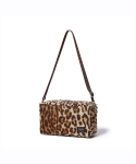 헤드포터(HEAD PORTER) LEOPARD 2WAY POUCH-LEOPARD
